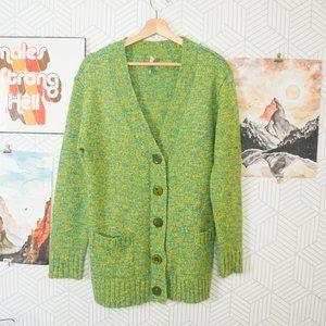 Matilda Jane long cardigan green Kiara Medium